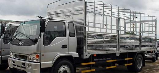 Xe tải JAC 10 tấn lên thùng bạt 9.15 tấn, Ảnh số 1