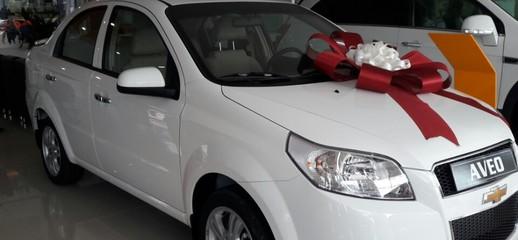 Chevrolet Aveo LTZ 1.4L, LH Thảo, đưa trước 10%, xe giao ngay, Ảnh số 1