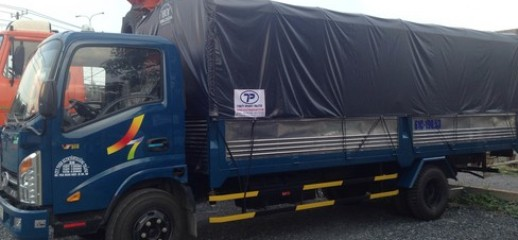 Xe tải Veam VT340S động cơ Huyndai, thùng dài 6m2, giá tốt liên hệ: Hòa, Ảnh số 1