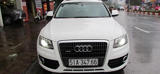 Audi Q5 2012 màu trắng, Ảnh số 1