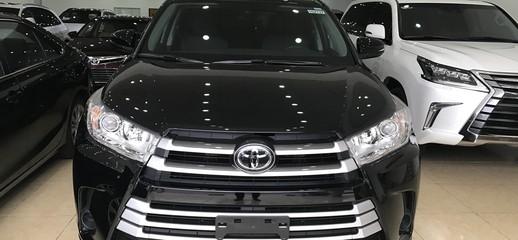Giao ngay Toyota Highlander năm 2017, màu đen, nhập khẩu nguyên chiếc từ mỹ,mới 100%, Ảnh số 1