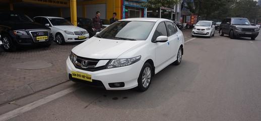 Honda City sx 2014 AT màu trắng, Ảnh số 1
