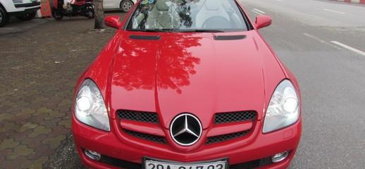 Mercedes SLK200 2010 màu đỏ, Ảnh số 1