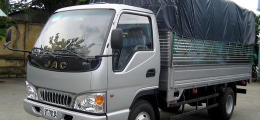 Chuyên bán xe tải jac 2.4 tấn jac 2tẫn4, jac 2400KG xe có sẵn giao nhanh, xe 2017, mới 100%, Ảnh số 1
