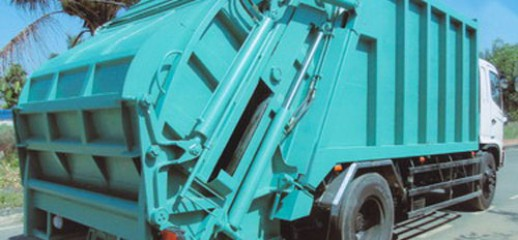 Xe ép rác Hino 12 khối, Ảnh số 1
