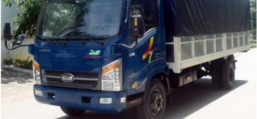Bán xe tải Veam VT260 tải trọng 2 tấn, động cơ hyundai. Kích thước hung cực lớn, lên đến 6m1, Ảnh số 1