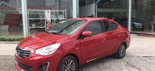 Bán xe Attrage màu đỏ, nhập nguyên chiếc, giá tốt nhất, cho góp 80%, Ảnh số 1