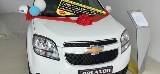 Gía xe Chevrolet Orlando 2017, Ảnh số 1