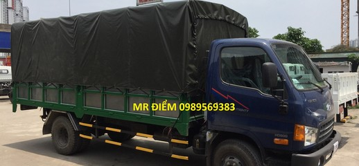 Xe tải hyundai hd 800 mới hot khuyến mãi thuê và bảo hiểm thân vỏ, Ảnh số 1