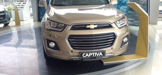 Bán xe Captiva 2017 màu đồng độc nhất vô nhị, Ảnh số 1