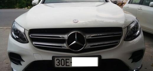 Mercedes Benz GLC 300 4Matic , Sản xuất 12. 2016, đăng ký năm 2017, Màu trắng , Biển Hà Nội, Ảnh số 1
