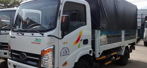 Xe tải VEAM VT252 1 2t4,thùng dài 4,1m,động cơ hyundai,đời 2017 vào thành phố, Ảnh số 1