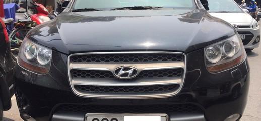 Hyundai SantaFe SLX 2.0 CRDI , sản xuất 2009, số tự động, màu đen, nhập khẩu, Ảnh số 1