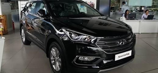 Hyundai Santafe dầu đen, Ảnh số 1