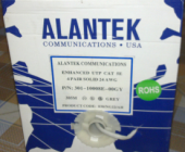 cáp alantek cat5e UTP, 4 pair.