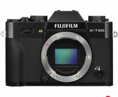 Fujifilm X T20 Mirrorless Digital Camera Black.