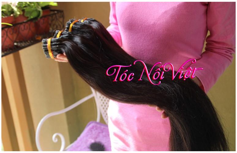 Mua bán tóc nối thật, tóc nối giá rẻ, tóc nối vê keo, tóc dệt kẹp cột, tóc đầu giả