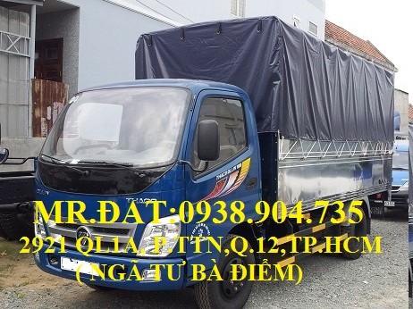 Xe tải ollin 345 máy isuzu 2.4 tấn vào thành phố, xe tải máy isuzu 2.4 tấn , xe tải 2t4 trả góp, xe tải thaoco 2.4 tấn Ảnh số 39614847