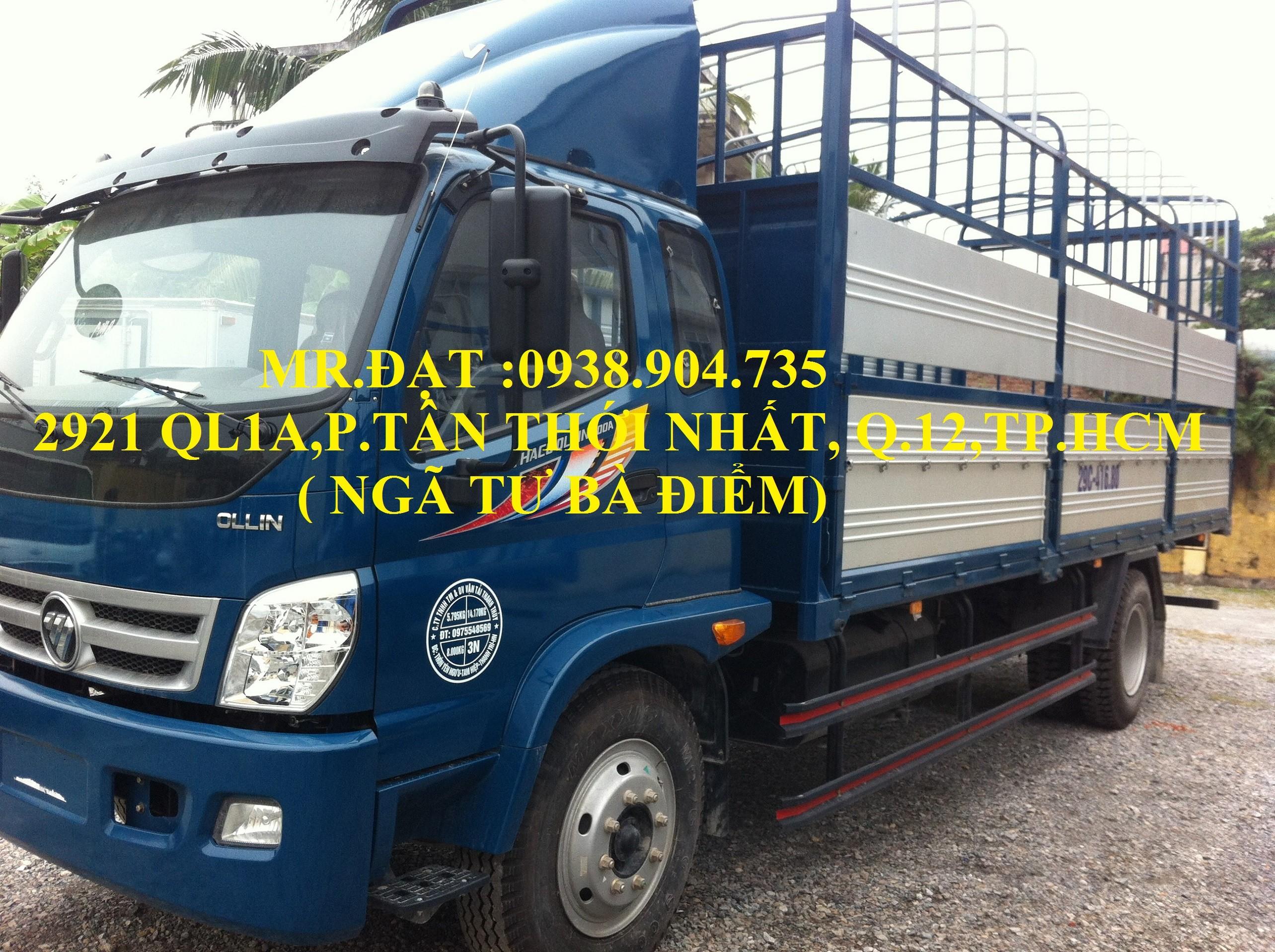 Xe tải ollin 345 máy isuzu 2.4 tấn vào thành phố, xe tải máy isuzu 2.4 tấn , xe tải 2t4 trả góp, xe tải thaoco 2.4 tấn Ảnh số 39614855