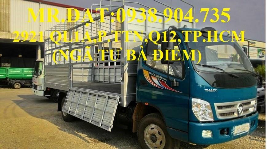 Xe tải ollin 345 máy isuzu 2.4 tấn vào thành phố, xe tải máy isuzu 2.4 tấn , xe tải 2t4 trả góp, xe tải thaoco 2.4 tấn Ảnh số 39614869