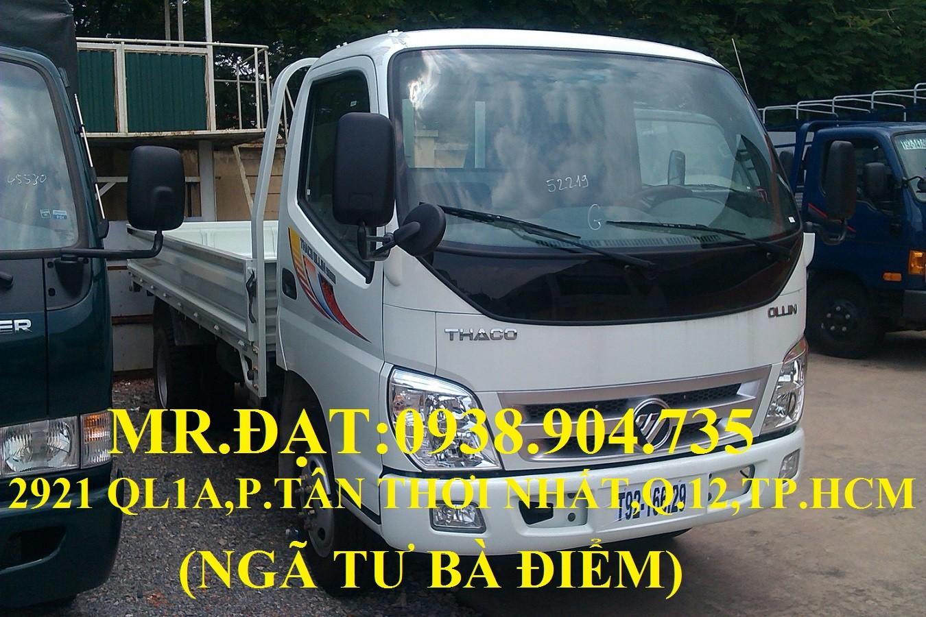 Xe tải ollin 345 máy isuzu 2.4 tấn vào thành phố, xe tải máy isuzu 2.4 tấn , xe tải 2t4 trả góp, xe tải thaoco 2.4 tấn Ảnh số 39614883