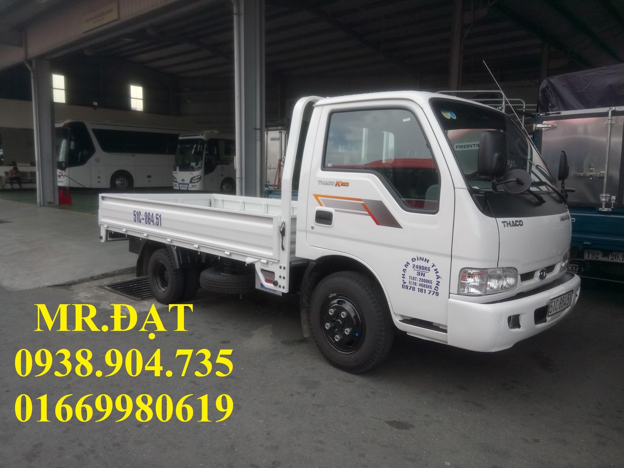 Xe tải nhẹ kia k165 2t4 vào thành phố trả góp, xe tải kia 2.4 tấn kia, bán xe tải trả góp 85% tp.hcm Ảnh số 39631927