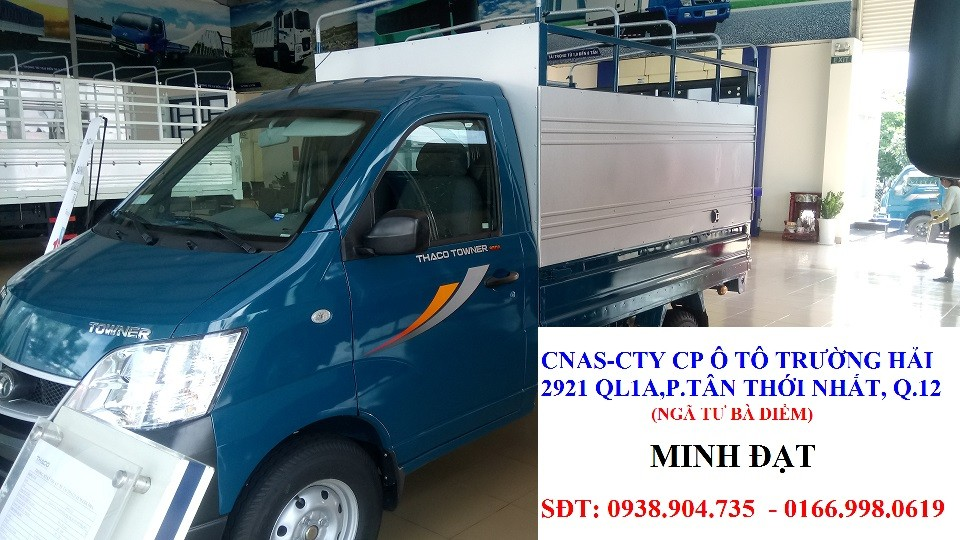 Xe tải nhẹ thaco: towner 800, xe tải nhẹ thaco towner 990 990kg , xe tải 850kg, xe tải thaco 900kg ,xe tải thaco 1 tấn Ảnh số 39858005