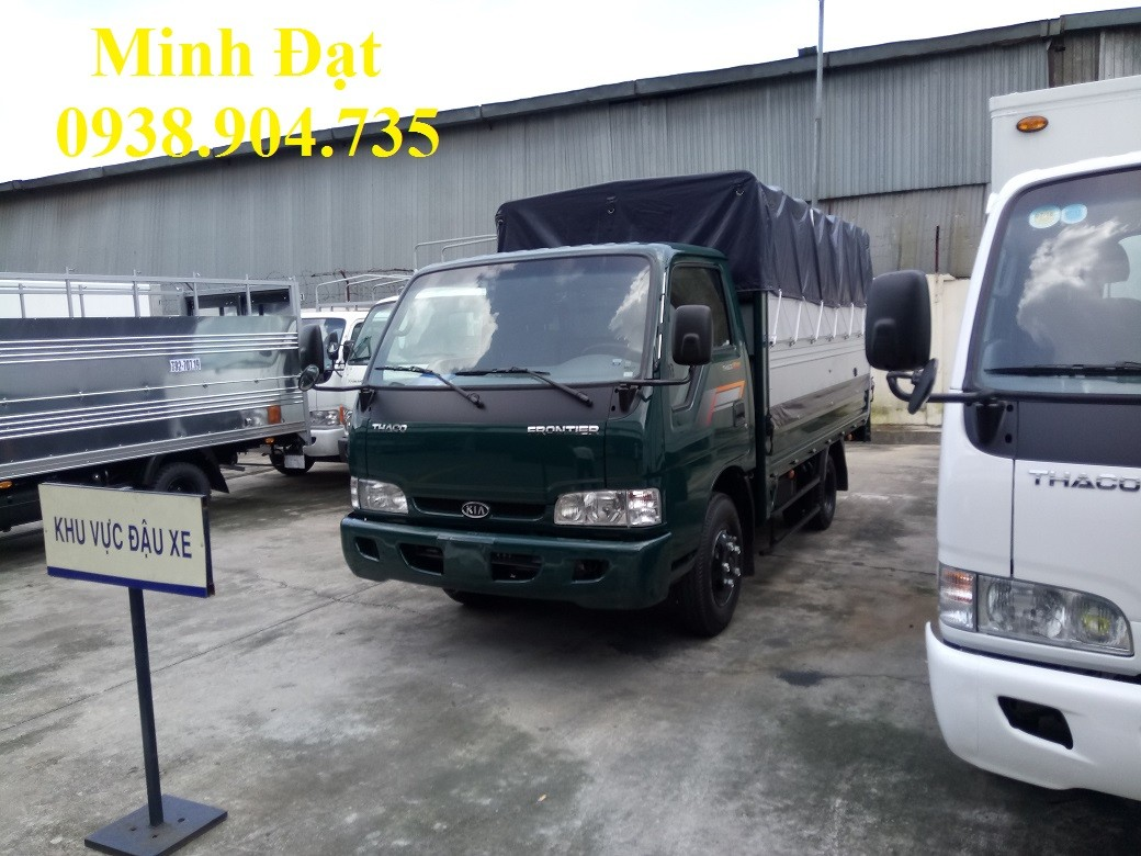 Xe tải Kia K165 THACO, Xe tải kia K165 2t4, xe tải kia 2 tấn 4 thaco, xe tải mới kia k165 2t4 Ảnh số 41112381