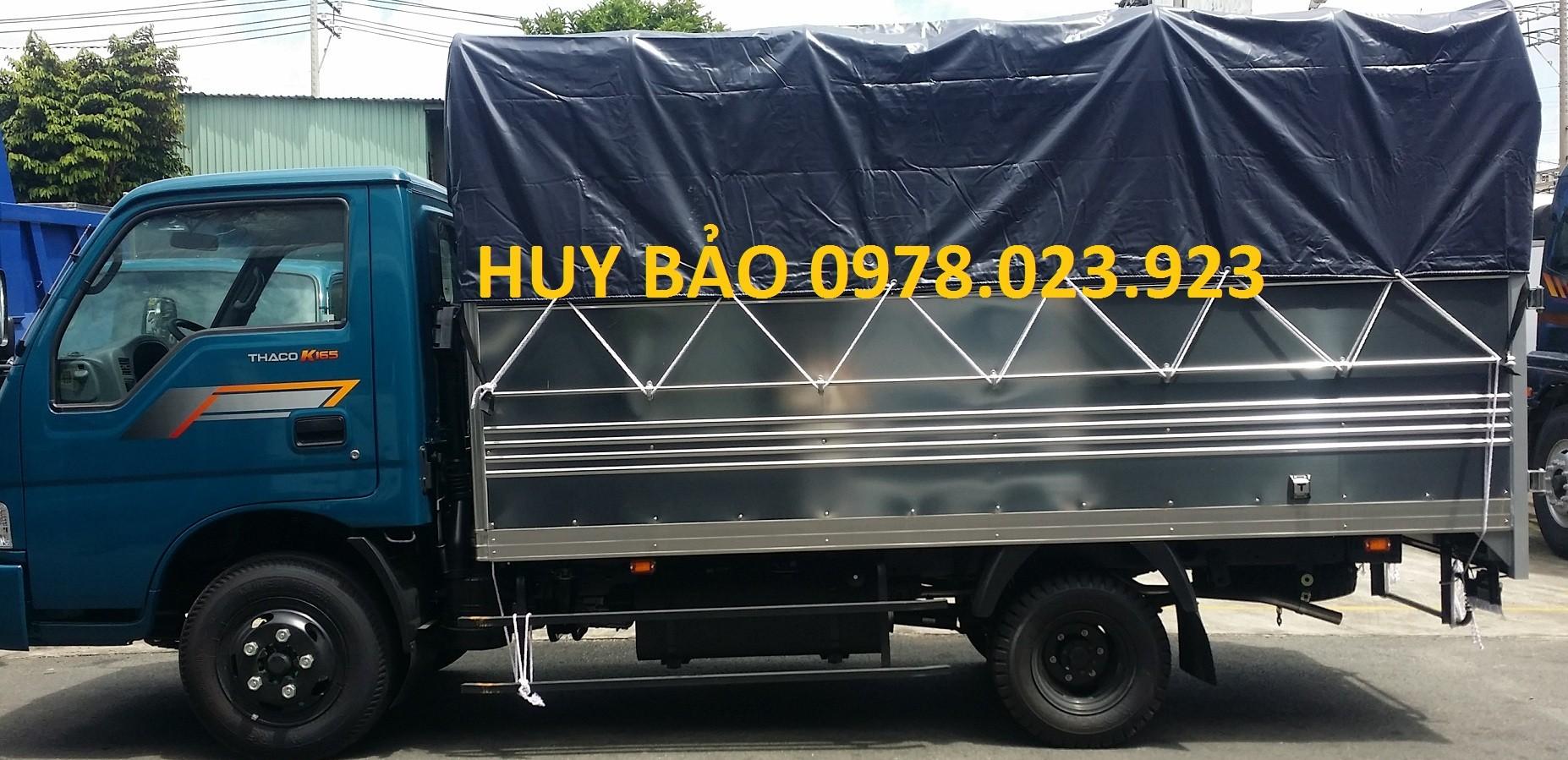 Chuyên bán xe tải kia tải 1 tấn 4, tải 2 tấn 4, xe tải kia đi thành phố k165 hỗ trợ vây cao Ảnh số 41526136