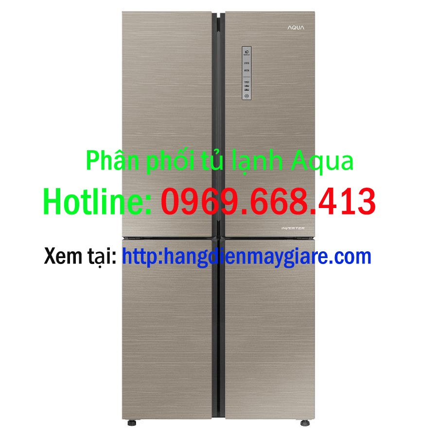 Tủ lạnh Aqua 516 lít AQR IG525AM, AQR IG585AS 4 cửa Inverter giá rẻ Ảnh số 41526696