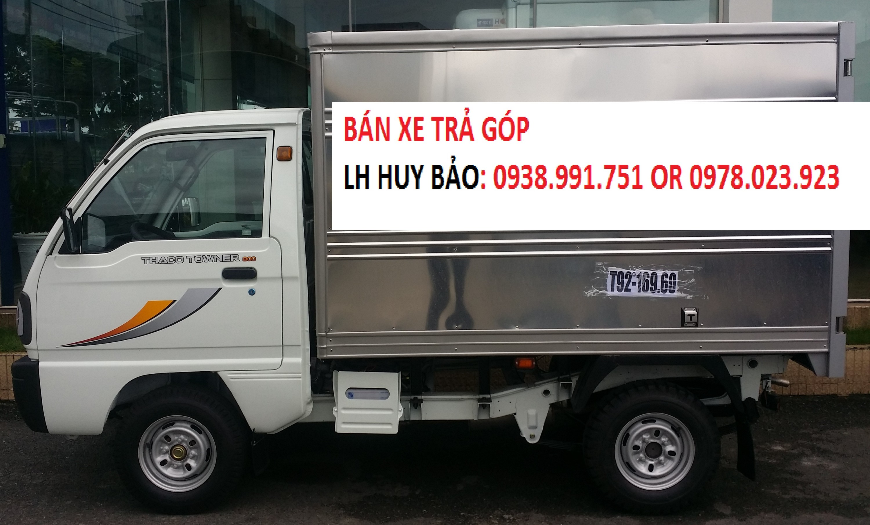 Xe tải 990kg thùng dai 2.6m thaco Towner, xe thaco 990 kg, xe tải suzuki 990kg thaco Ảnh số 41550406