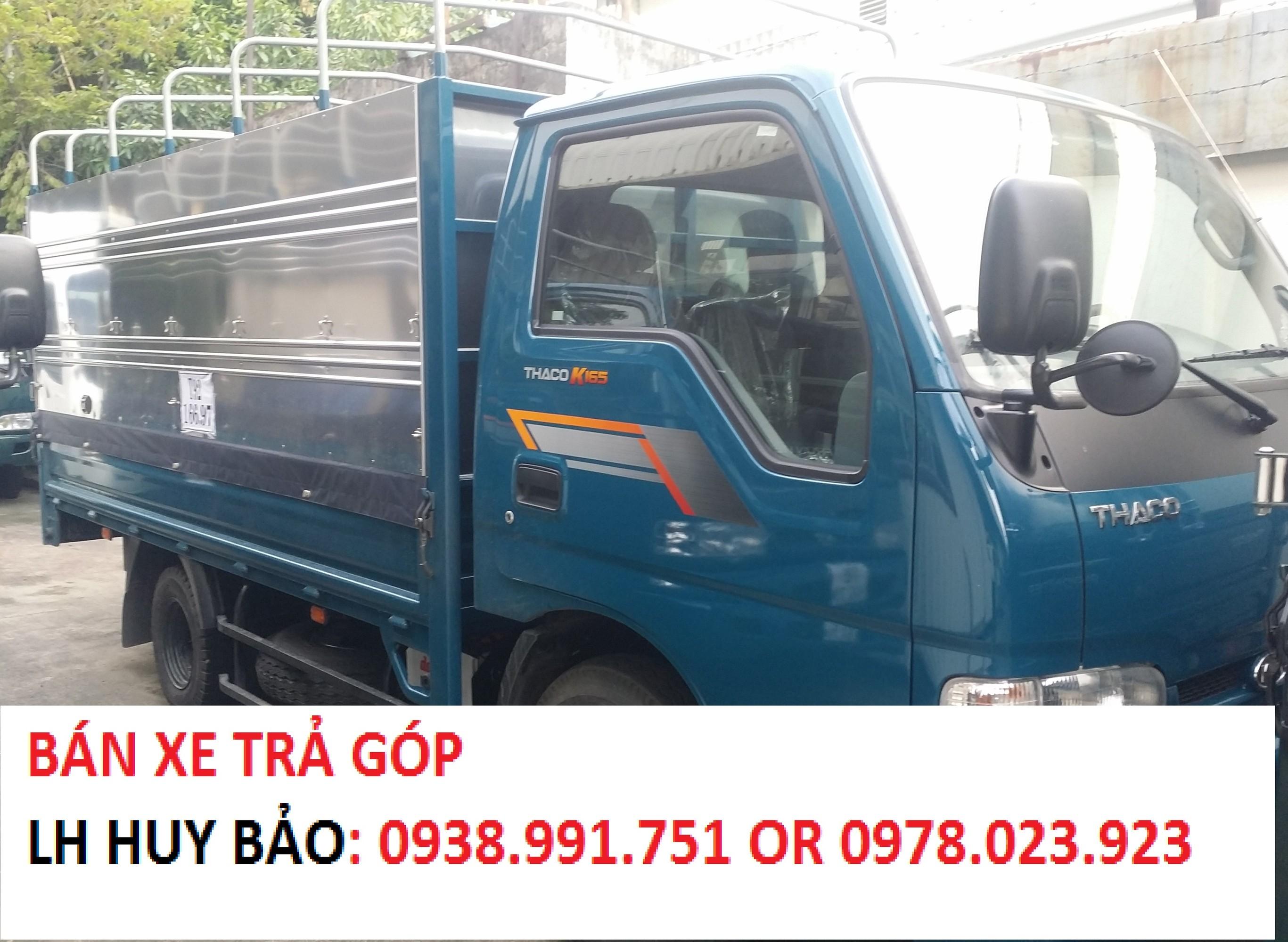 Chuyên bán xe tải kia tải 1 tấn 4, tải 2 tấn 4, xe tải kia đi thành phố k165 hỗ trợ vây cao Ảnh số 41637209