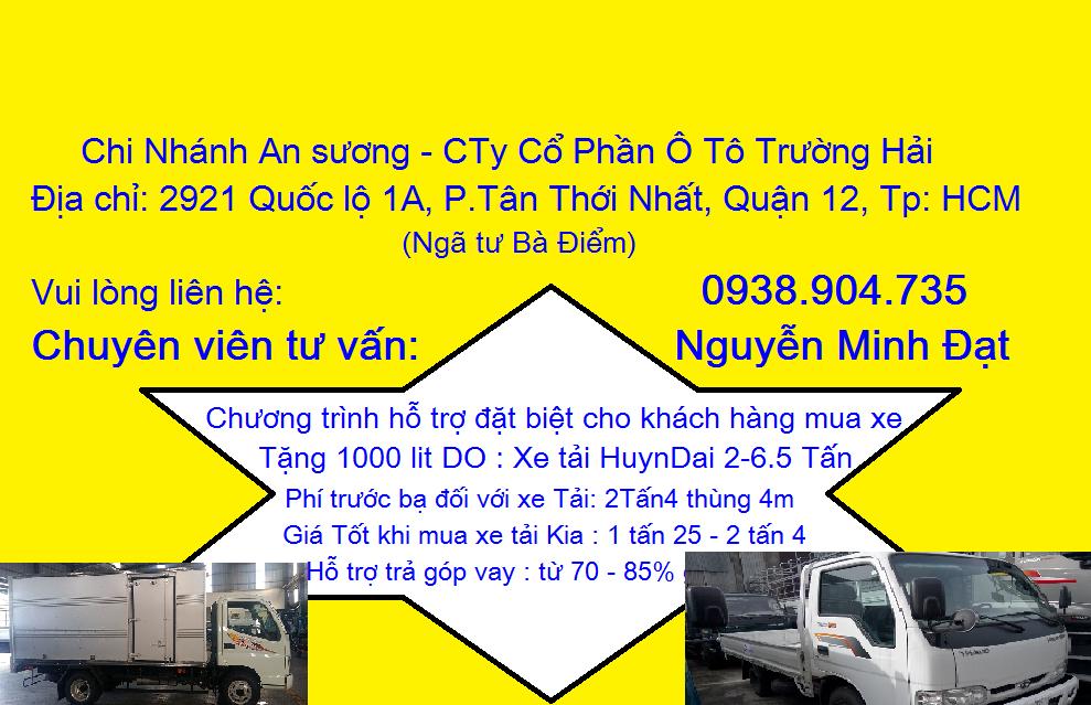 Xe tải Kia K165 THACO, Xe tải kia K165 2t4, xe tải kia 2 tấn 4 thaco, xe tải mới kia k165 2t4 Ảnh số 41683614
