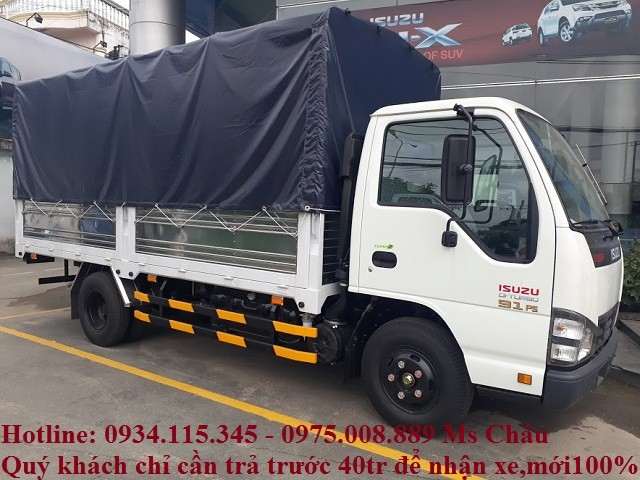 Giá xe tải Isuzu QKR55H isuzu 1.9 tấn xe tải isuzu 1t9 sản xuất 2018 Ảnh số 41775669