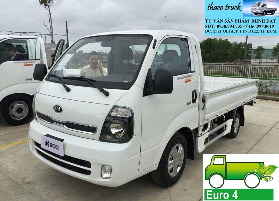 Xe tải Kia New Frontier K200 Bongo III tải trọng 1 tấn 9 TP.HCM Long An, xe tai kia k2700, xe tải kia 1tấn25 , Ảnh số 41789592