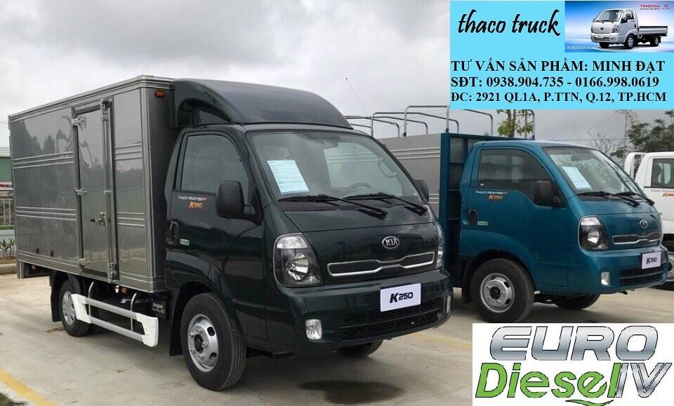 Xe tải Kia New Frontier K200 Bongo III tải trọng 1 tấn 9 TP.HCM Long An, xe tai kia k2700, xe tải kia 1tấn25 , Ảnh số 41789599