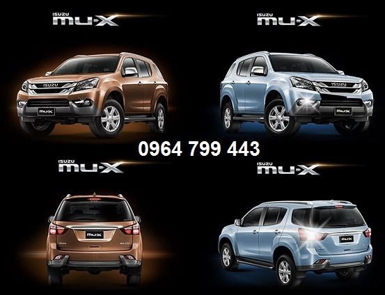 Bán xe isuzu MU X , xe 7 chỗ , xe suv , isuzu việt hải , giá tốt nhất Ảnh số 41891581
