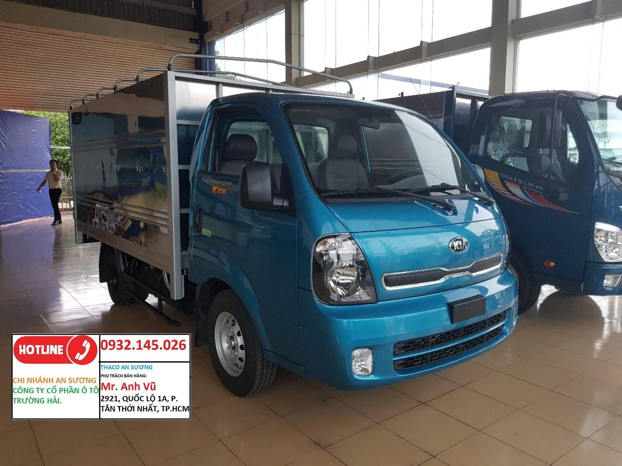 Xe tải kia k200 có sẵn bán trả góp chỉ cần 120 tr có xe ngay. xe tải kia k200 tải 1 tân 9 Ảnh số 41946746