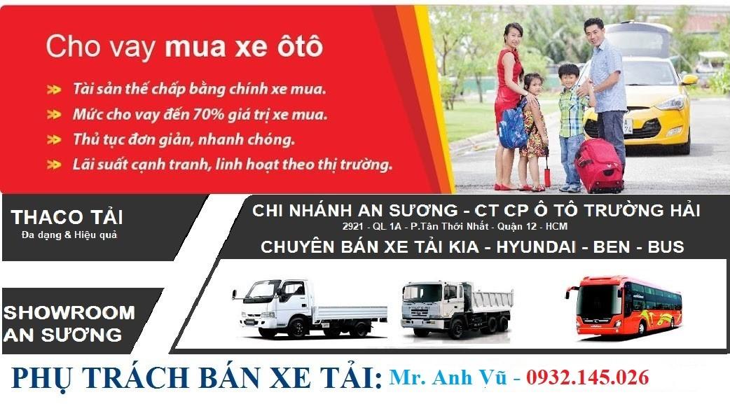 Xe tải kia k250 tải 2 tấn 4 động cơ HuynDai thùng mui bạt thùng kín trả góp 70% XE GIAO NGAY. xe tải kia k250 tải 2t4 Ảnh số 41956381