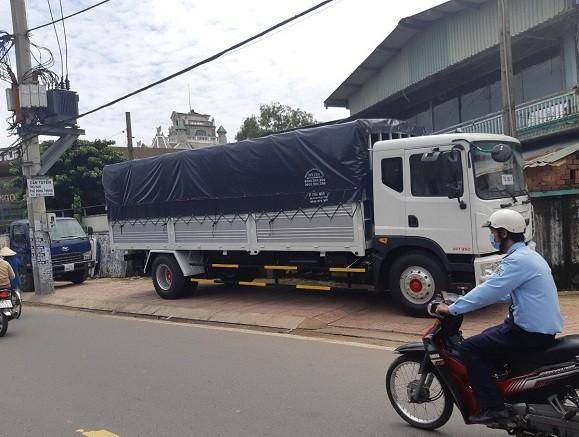 Xe tải Veam 9T3/ Xe tải thùng bạt Veam VPT950/ Gía trả góp xe tải Veam VPT950 9T3 thùng dài 7m6 Ảnh số 42149334
