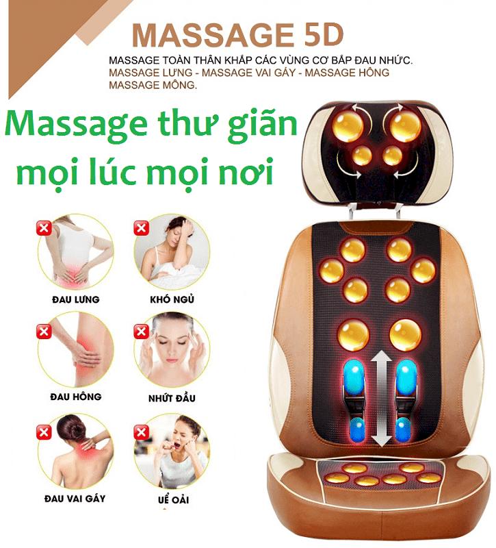 Ghế massage toàn thân theo huyệt đạo Ayosun Hàn Quốc thế hệ mới nhất hiện  nay giá 2.900.000đ - Toàn quốc   ÉnBạc.com
