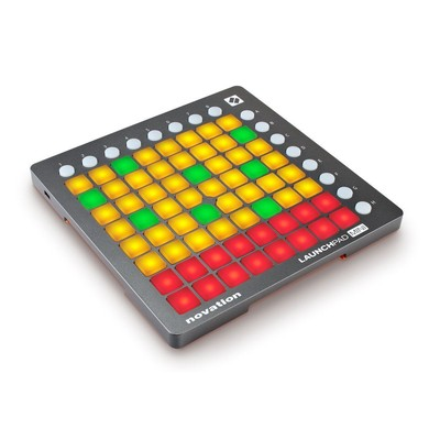 Thiết bị âm thanh Novation Launchpad Mini USB Midi Controller fPerforming and Producing Music with iPad, Mac and PC