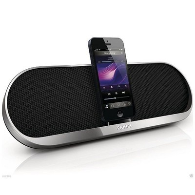 Loa Philips Portable Bluetooth Docking Speaker DS7880 FIphone 5 5S New Sealed