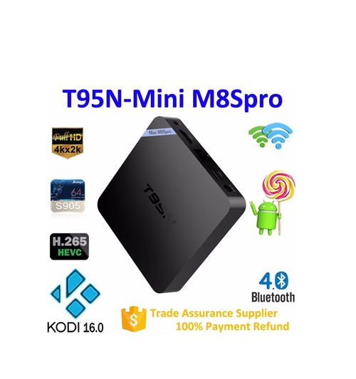 Ảnh số 2: Android TV Box T95N Mini M8S Pro 2GB Ram
