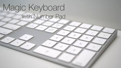 Ảnh số 2: Apple Magic Keyboard with Numeric Keypad, ABàn phím Apple Magic Keyboard 2