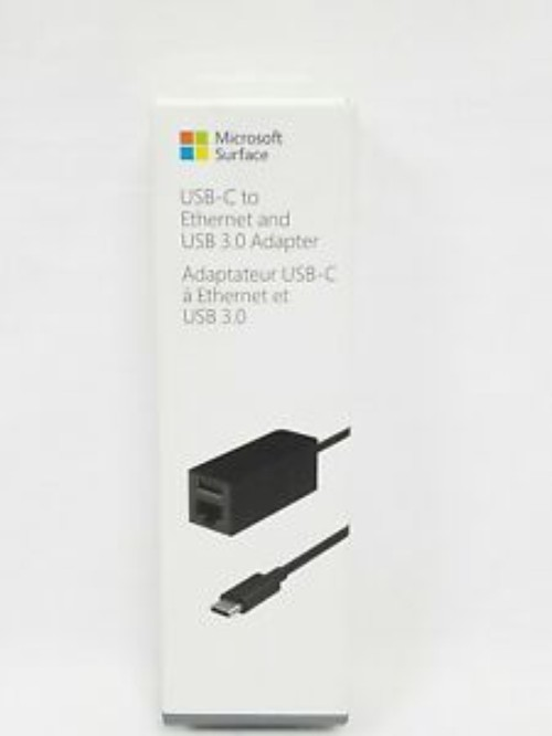 Ảnh số 2: Microsoft Surface USB C to Ethernet and USB 3.0 Adapter New model