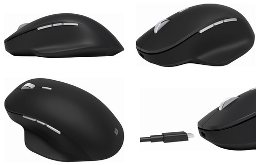 Ảnh số 2: Microsoft Surface Precision Mouse, Surface Precision Mouse Black