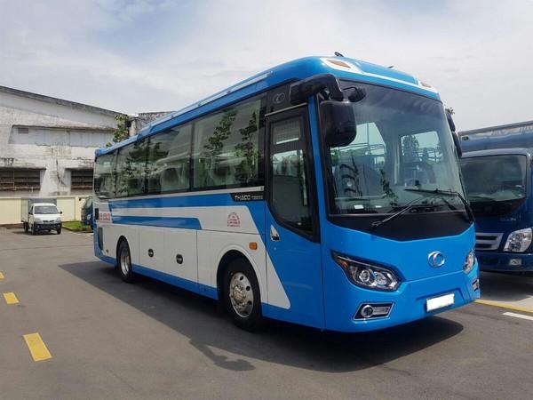 Giá xe 29 chỗ Trường Hải, xe 29 chỗ THACO TOWN TB85 thân dài 8.5m - Tin  đăng ID: 2204137 | ÉnBạc.com