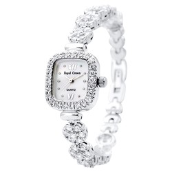 Ảnh số 19: Royal crown watches female bracelet watch rhinestone gold 1514B - Giá: 2.142.000