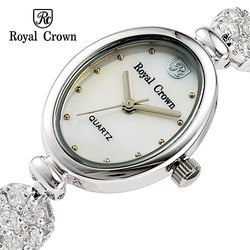 Ảnh số 40: Royal crown watches limited edition female bracelet watch luxury rhinestone gold 2506 - Giá: 2.142.000